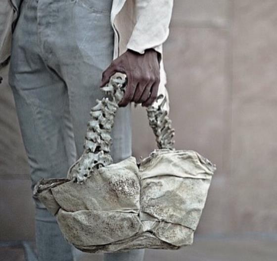 인도네시아 디자이너, '사람 등뼈'로 핸드백 만들어 윤리성 논란 [인스타그램 byarnoldputra]