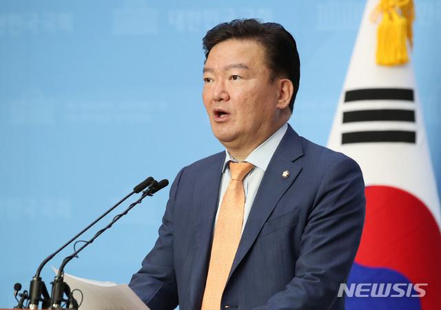 민경욱 미래통합당 의원. 2020.05.19./ 뉴시스