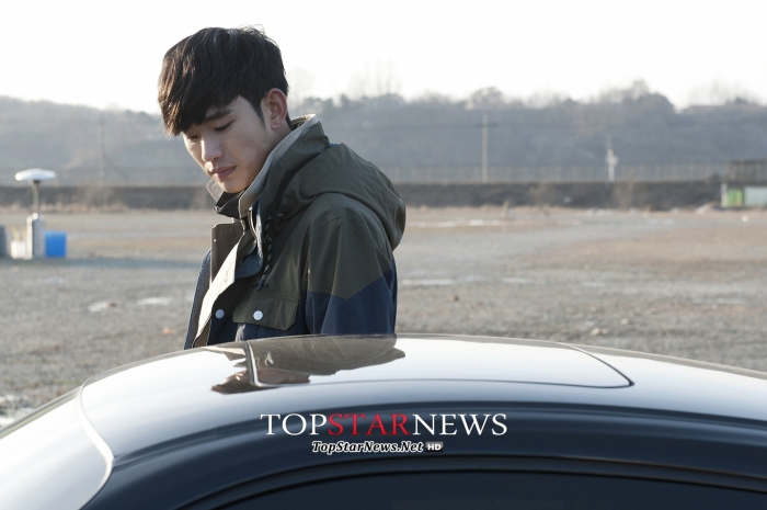 김수현 / 사진=빈폴아웃도어