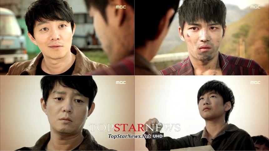 '트라이앵글' 이범수-김재중 / MBC 방송 캡처