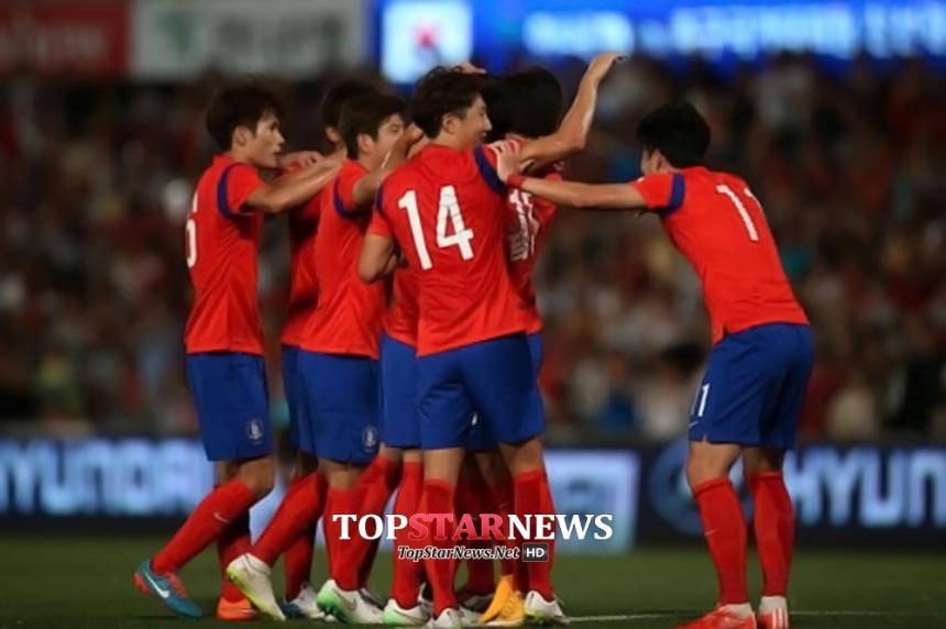 한국-이라크 기성용 / 대한축구협회