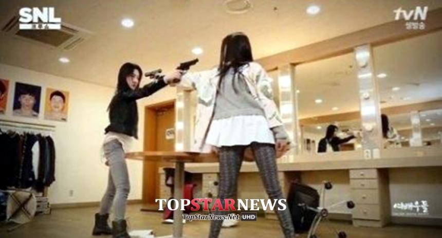 고원희-정연주 / tvN SNL코리아6 방송 화면 캡처