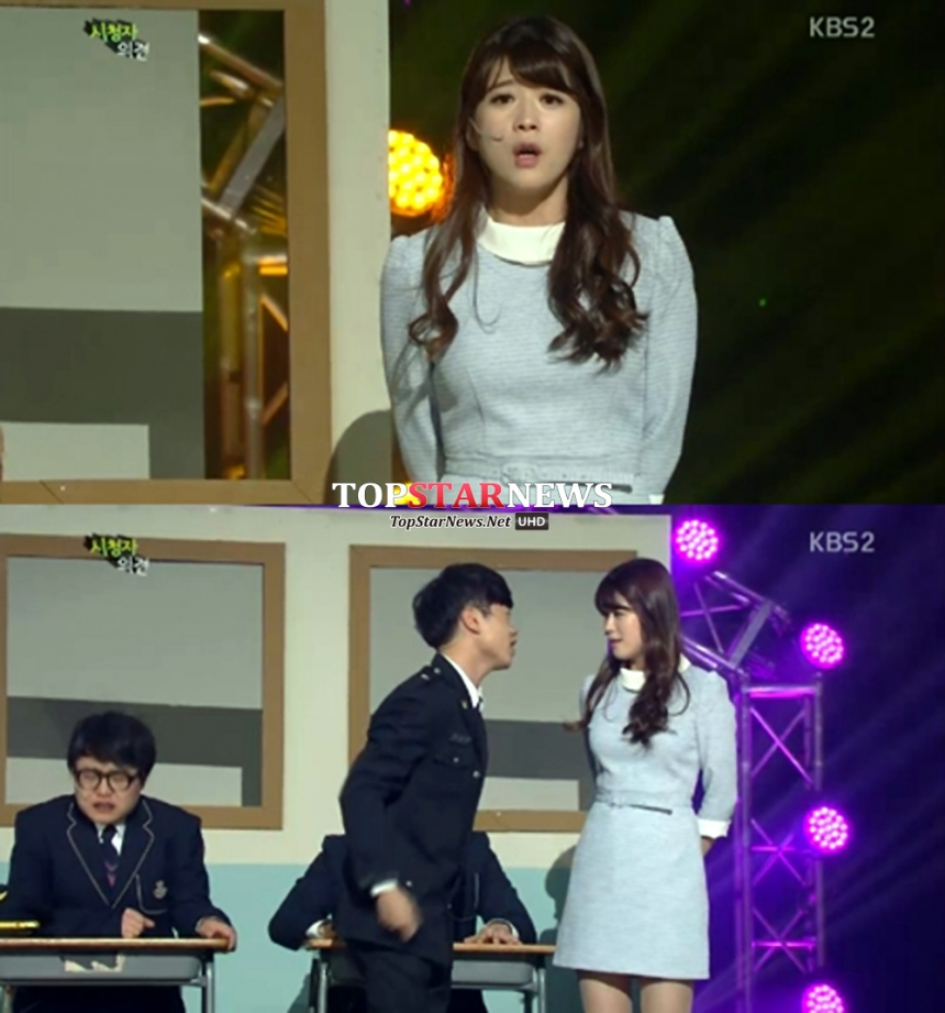김승혜-최재원 / KBS 개그콘서트 방송 화면 캡처