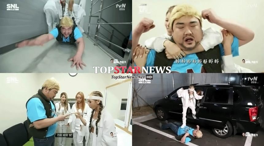 'SNL코리아6' 러버소울(Rubber Soul)-김준현 / tvN