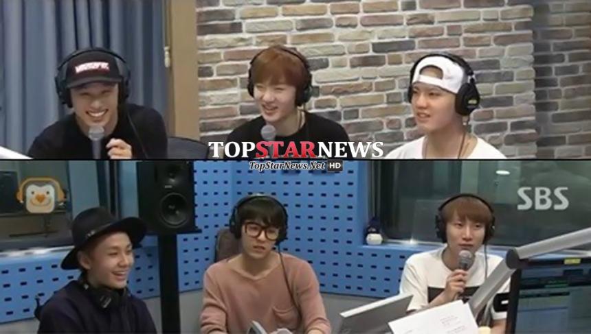 '김창렬의 올드스쿨' 비투비 / SBS 파워FM '김창렬의 올드스쿨' 화면캡처
