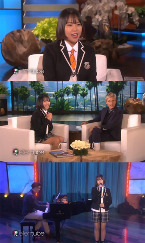 '엘렌 드제너러스 쇼' 라디아 / NBC '엘렌 드제너러스 쇼' 유튜브 화면캡처