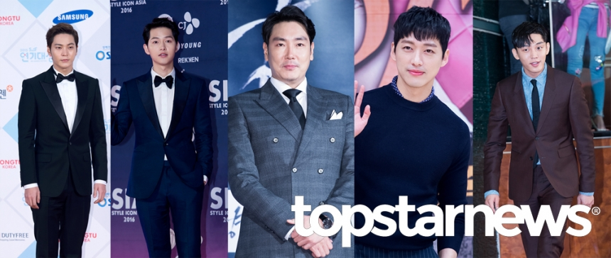 남궁민-송중기-유아인-조진웅-주원 / 톱스타뉴스 포토뱅크
