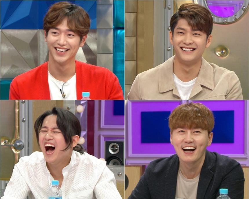 '라디오스타' 서강준-강태오-강균성-전우성 / MBC '라디오스타'