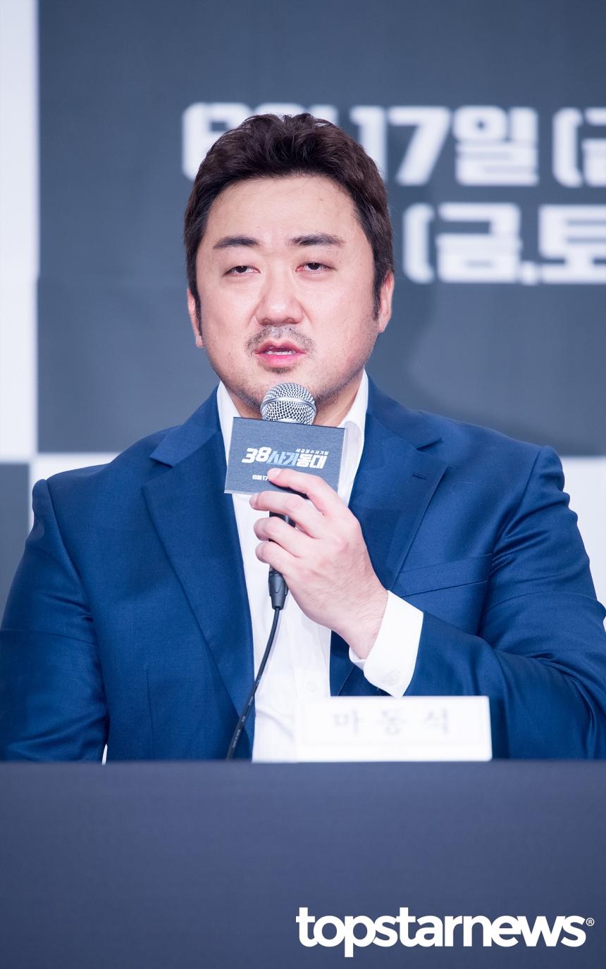 '38사기동대' 마동석 / 톱스타뉴스 김혜진 기자