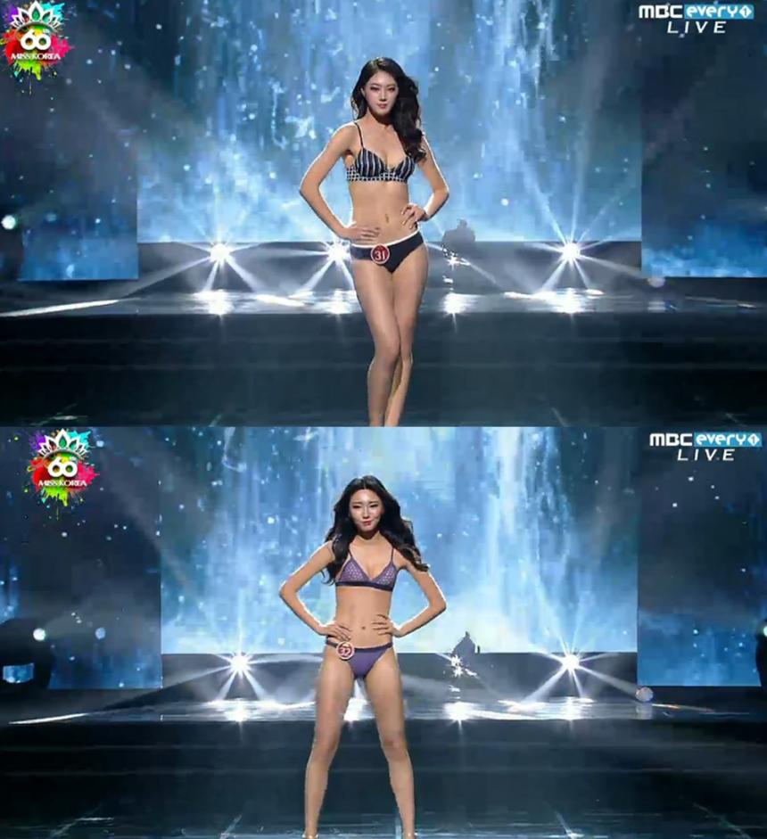 a2e56e738f1 '2016 미스코리아' 후보들 / MBC 에브리원 '2016 미스코리아' 화면 캡처 '