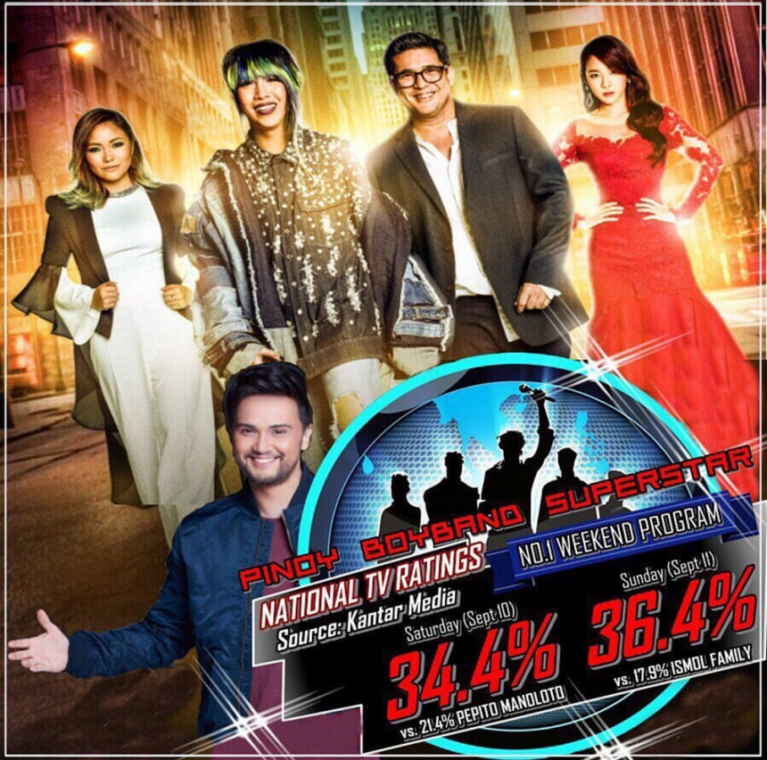 'La Banda Pinoy Boyband Superstar' 공식 포스터 / YG ENT