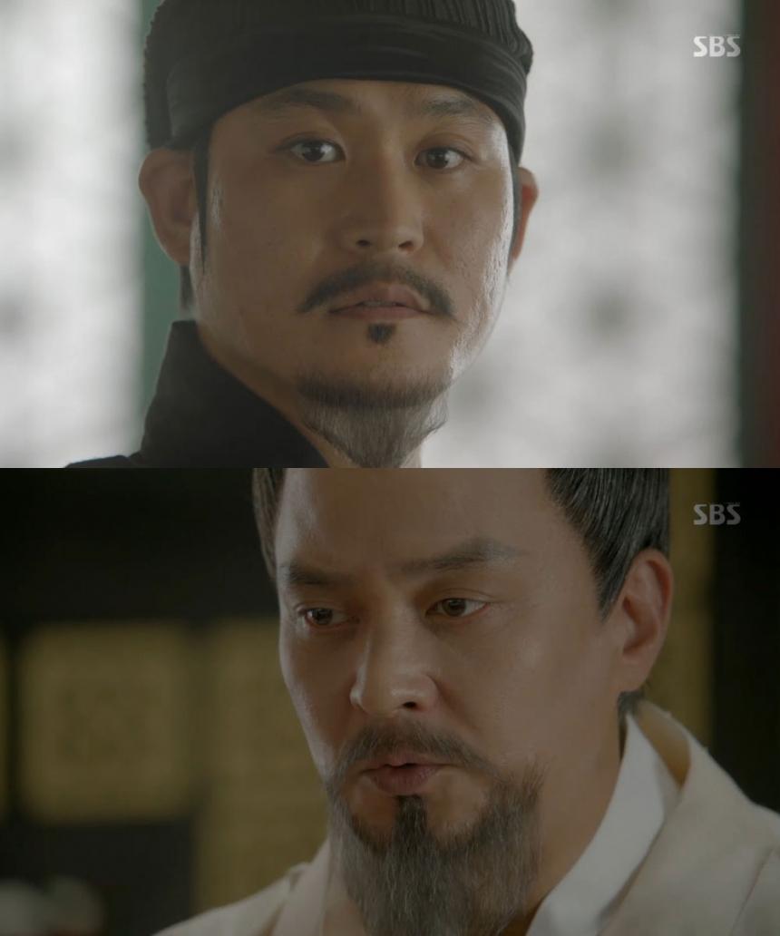 '달의 연인-보보경심 려' 조민기-김성균 / SBS '달의 연인-보보경심 려' 화면 캡처