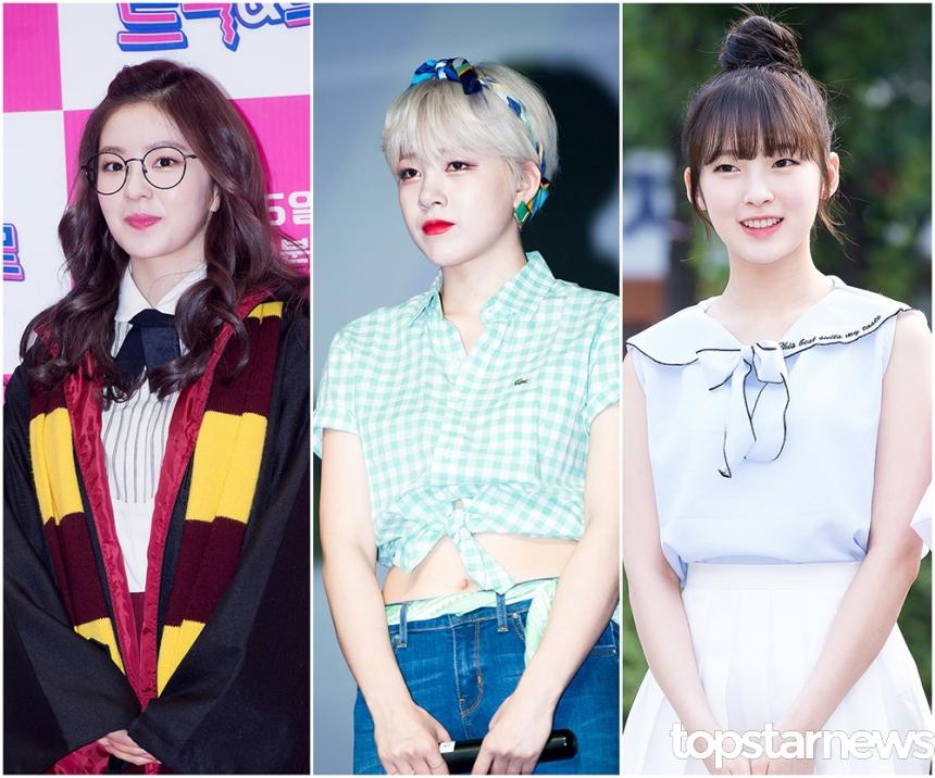 레드벨벳(Red Velvet) 아이린-타히티(TAHITI) 아리-오마이걸(OH MY GIRL) 아린 / 톱스타뉴스 HD포토뱅크