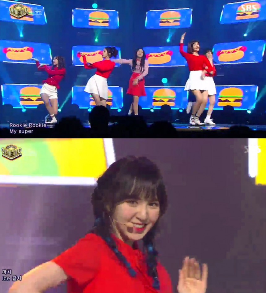 '인기가요' 레드벨벳(Red Velvet) / SBS '인기가요' 방송 캡처