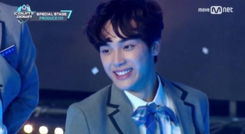 프로듀스 101 시즌2 주학년 / Mnet 프로듀스 101 시즌2 방송캡처