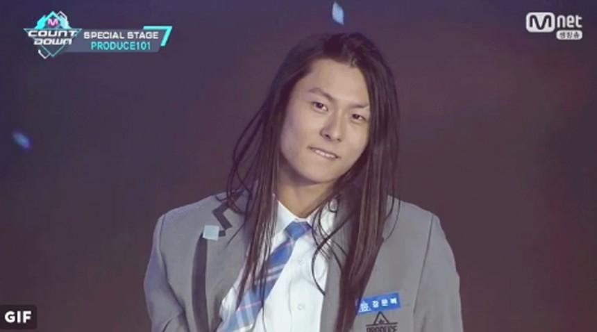 프로듀스 101 시즌2 장문복 / Mnet 프로듀스 101 시즌2 방송캡처