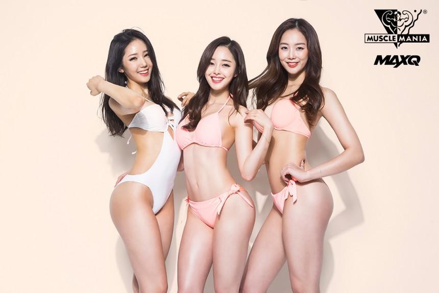 '머슬앤맥스큐' 최설화-공민서-손소희 / 머슬앤맥스큐