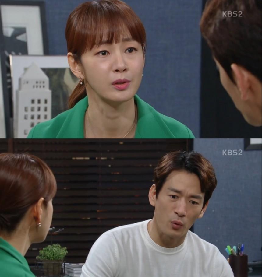 '다시, 첫사랑' 명세빈-박정철/KBS 2TV'다시, 첫사랑' 방송 캡처