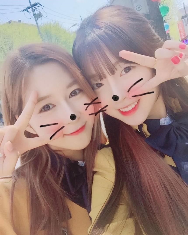 우주소녀 다영-오마이걸 아린 / 다영 인스타그램