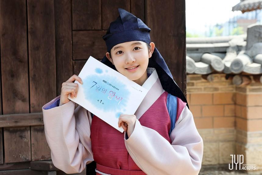 박시은의 모습 / JYP ENT