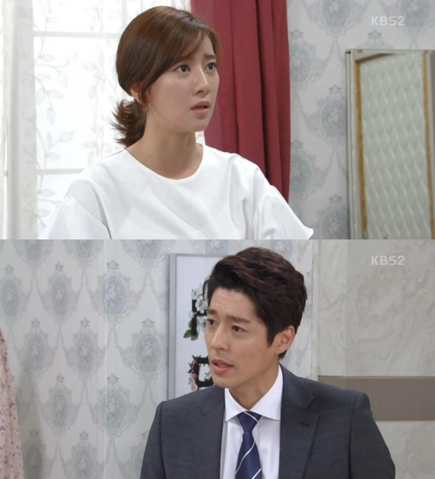 '이름 없는 여자' 최윤소-서지석/KBS 2TV '이름 없는 여자' 방송 캡처