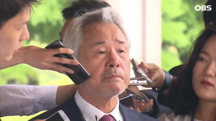 MP그룹 정우현 전 회장 / OBS뉴스 화면 캡처
