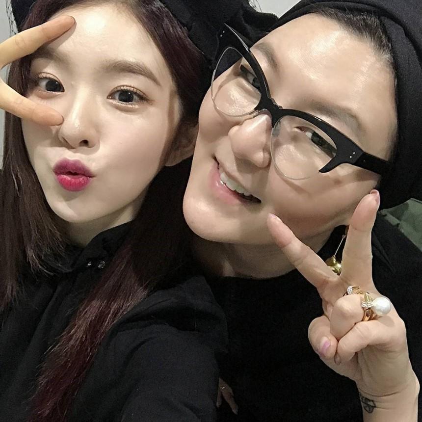 한혜연-레드벨벳(RedVelvet) 아이린 / 한혜연 인스타그램