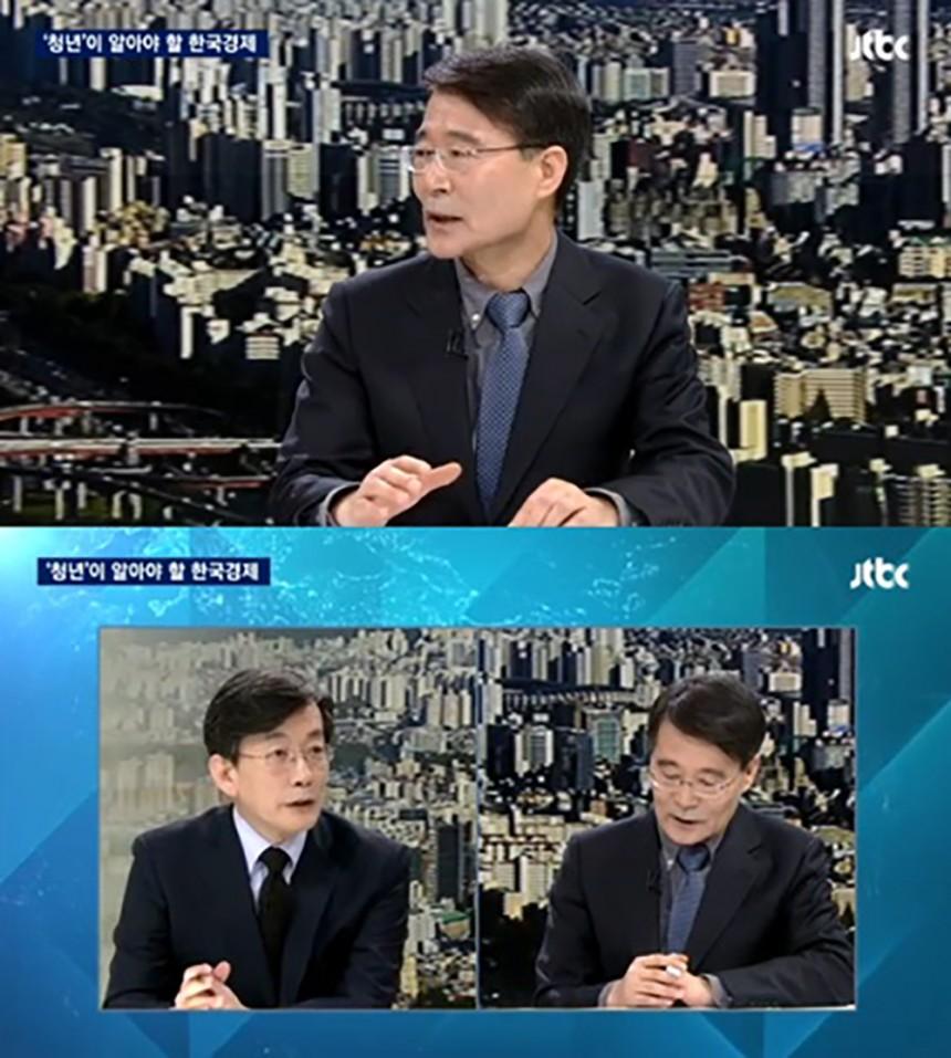 장하성 청와대 정책실장 / JTBC '뉴스룸' 방송화면 캡처