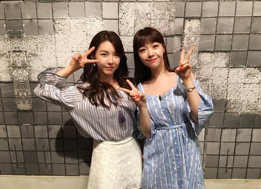 걸스데이(Girlsday) 민아-워너비(WANNA.B) 린아 / 걸스데이(Girlsday) 민아 인스타그램