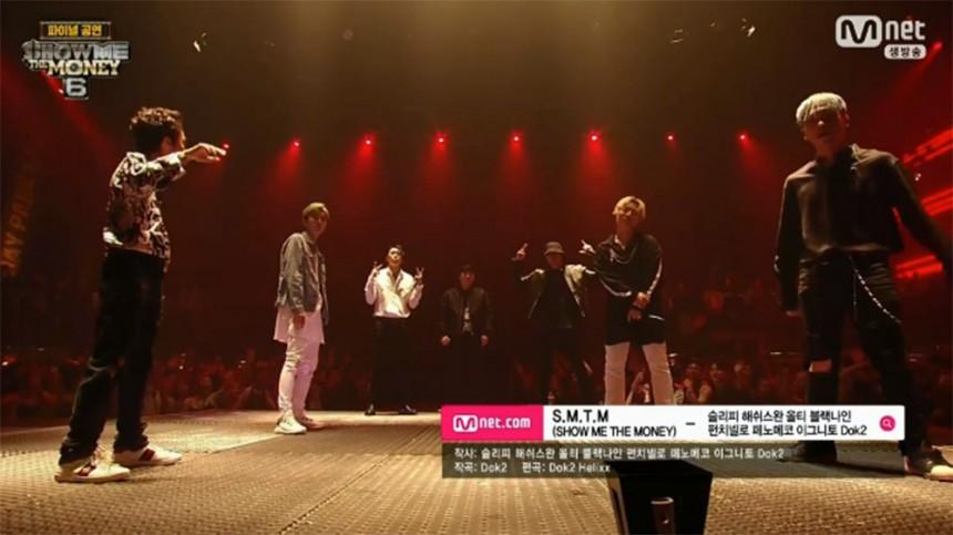 Mnet(엠넷) '쇼미 더 머니6' 방송 캡처