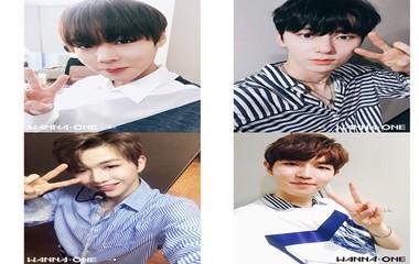 워너원 공식 인스타그램 캡쳐