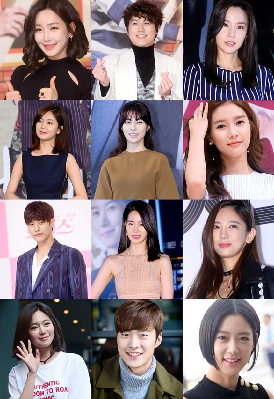 '소리바다 어워즈' 참석 배우들