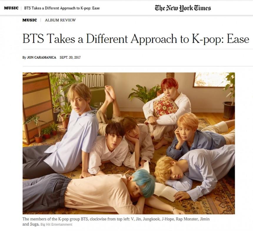 방탄소년단 / 뉴욕타임스
