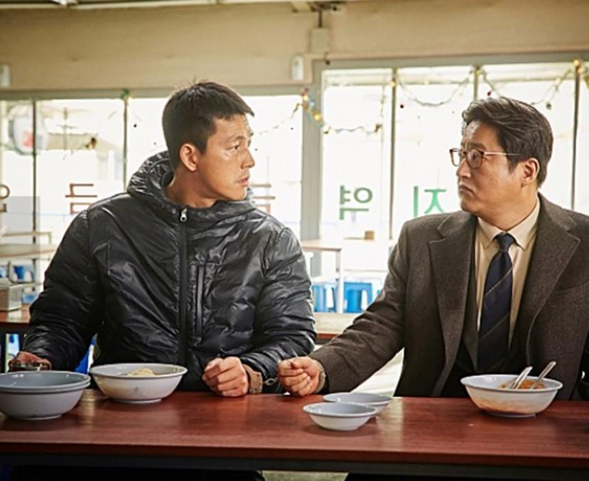정우성 곽도원/ 강철비 스틸컷