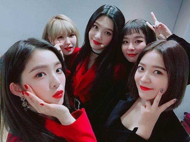 레드벨벳 공식 인스타그램