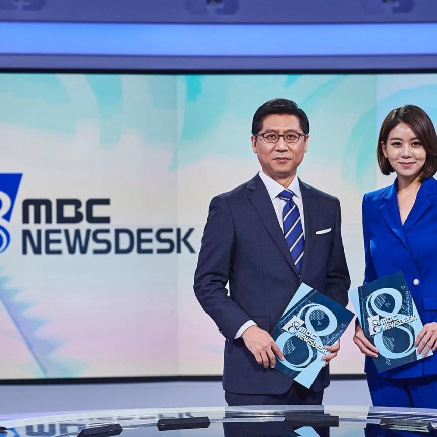 박성호 앵커-손정은 아나운서 / 손정은 아나운서 인스타그램