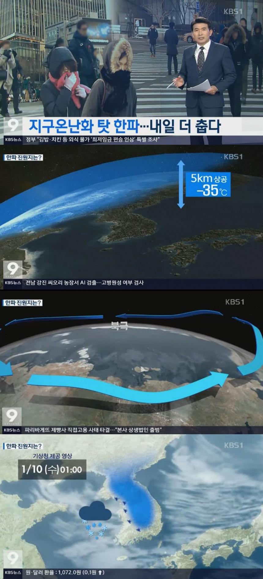 KBS '뉴스9' 방송 캡쳐
