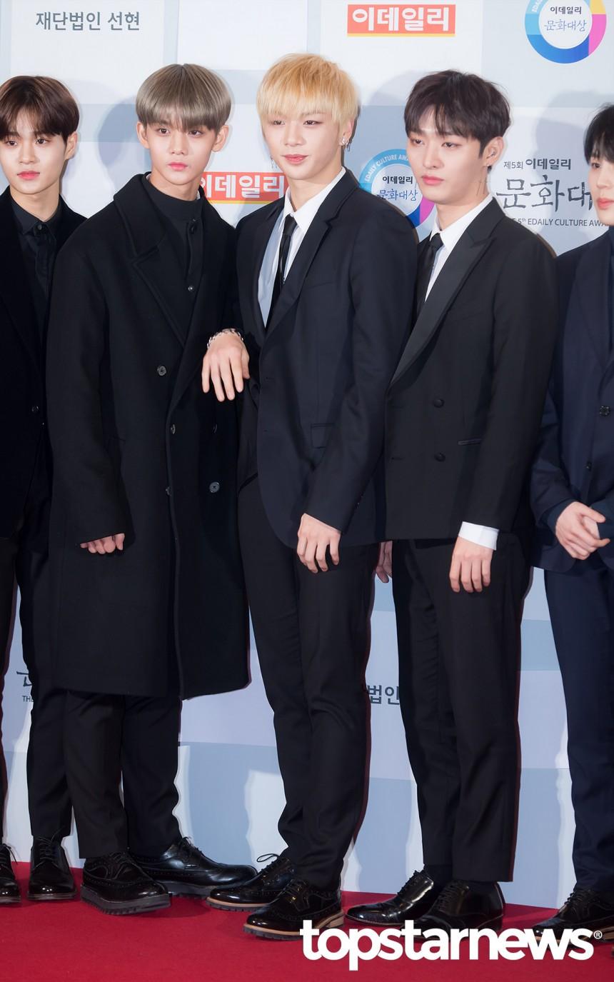 워너원(Wanna One) 강다니엘 / 서울, 정송이 기자