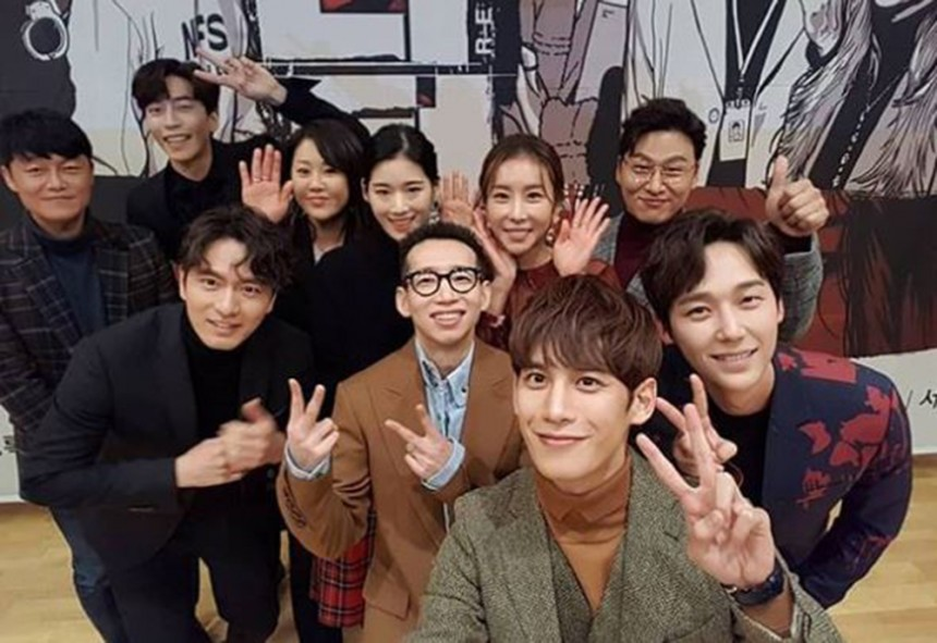 '리턴' 출연진/ 오대환 인스타그램